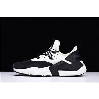Black and white Huaraches mens,Nike
